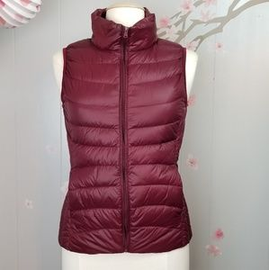 Jackets & Blazers - Puffer Fitted Vest